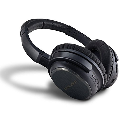 Golzer BANC-50 Bluetooth 4.1 High Fidelity Active Noise Cancelling Wireless OverEar Headphones W